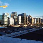 Großbaustelle an der Oper in Oslo©BPN