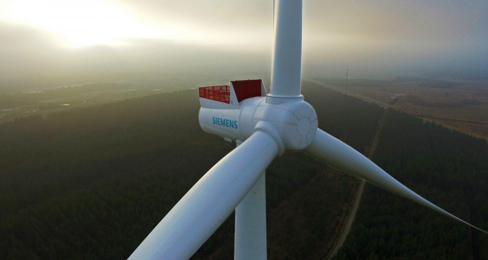 Unter den Turbinenherstellern war Siemens Ende 2015 mit einem Marktanteil von etwa 54 Prozent deutlicher Marktführer.©Siemens