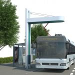 Illustration der Ladestation für E-Busse in Drammen©siemens