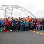 An der offiziellen Eröffnung der E 105 nahmen auch Schulklassen teil.© SD/Henrik Jonassen