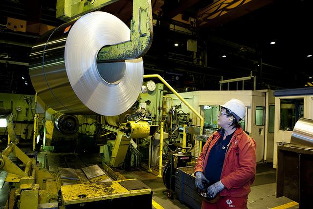 Norsk Hydro hat in Karmøy eine der umweltfreundlichsten Aluminiumproduktionen der Welt©Norsk Hydro