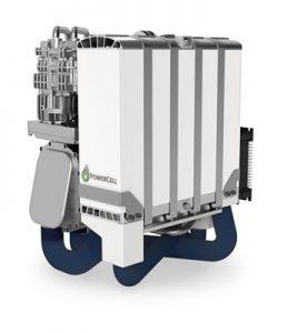 Brennstoffzellen-Modul MS-100 von PowerCell ©PowerCell