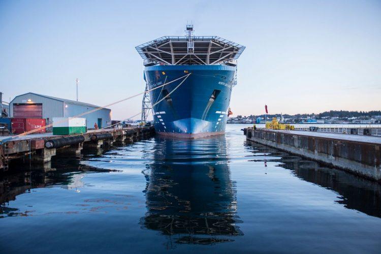 """Corvus Energy ist einer der führenden Anbieter von Schiffsbatterien. Unter anderem ist das größte Konstruktionsschiff der Welt, """"North Sea Giant"""", mit einer Corvus Energiespeicherlösung ausgestattet.©NCE Maritime CleanTech"""