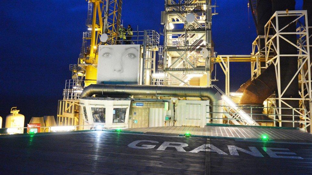 Die Grane-Plattform in der Nordsee©Harald Pettersen / Equinor ASA