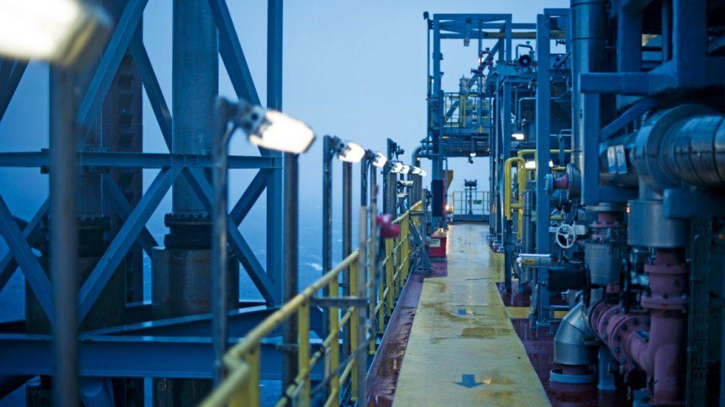 Die Entwicklung von Volve basierte auf der Produktion der Mærsk Inspirer Jack-up Anlage.©Ole Jørgen Bratland
