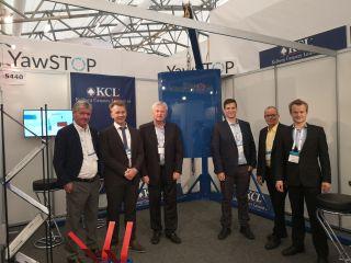 Das neue System zur Rotationskontrolle wird auf der ons in Stavanger in Halle 5, Stand vorgestellt.©