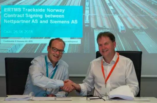 Arild Borgersen, Direktor bei Nettpartner AS, und ©Siemens