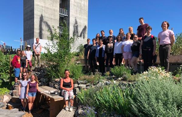 Teilnehmer des 12. Deutsch-Norwegischen Jugendforums im Botanischen Garten in Oslo©Maria Jensen