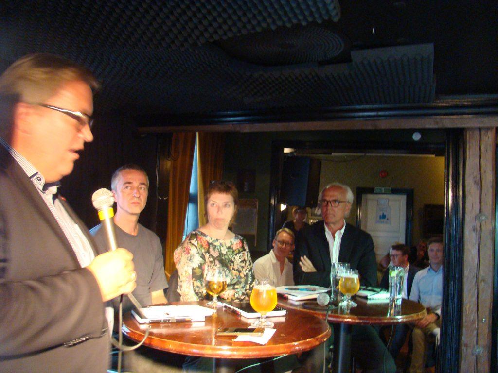 Sverre Myrli, Ingrid Brekke, Sten Inge Jørgensen und Axel Berg
