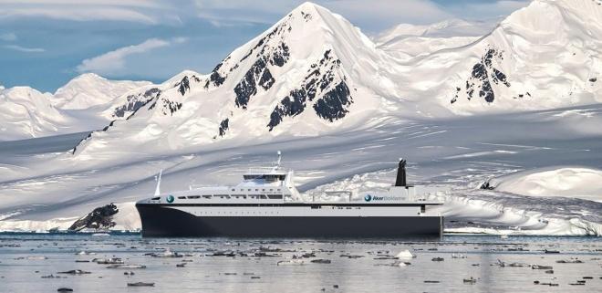 Das mit Biomasse betriebene Fischereischiff wird ab 2019 im Einsatz sein©