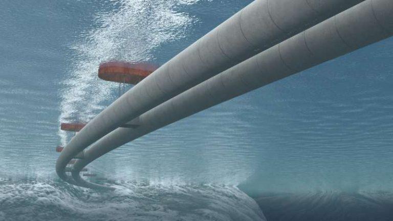 Das Foto vom schwebenden Tunnel begeisterte die Weltpresse. Nun ist entschieden: Das Projekt wird nicht realisiert.©Statens Vegvesen