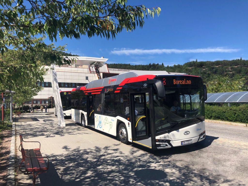 Elektrobusse des polnischen Herstellers Solaris verkehren jetzt auch in Kristiansand©solaris