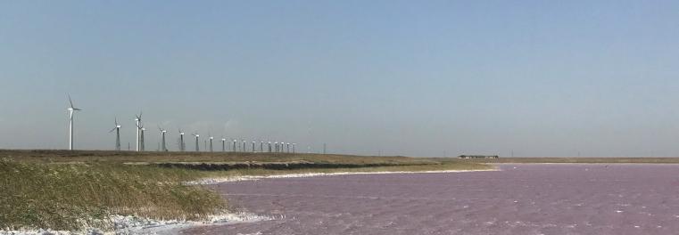 Lake Syvash Wind Farm des norwegischen Unternehmens NBT©NBT