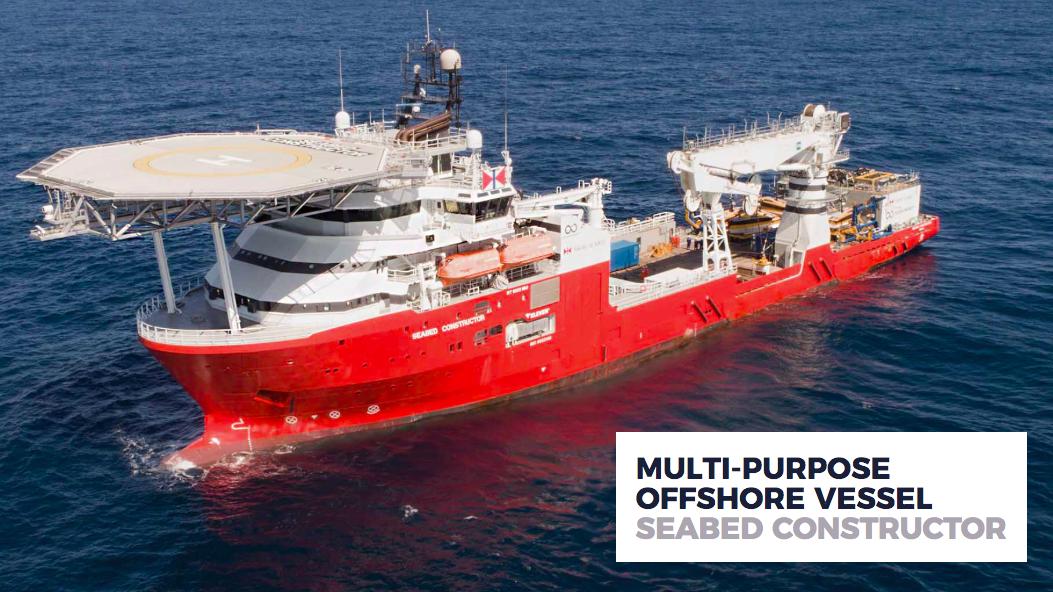 Das norwegische Forschungsschiff Seabad Construction©Ocean Infinitive