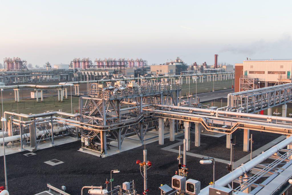 Hohe Öl- und Gaspreise trugen 2018 wesentlich zur Steigerung der norwegischen Exporte bei. Im Bild: Das neue Terminal wurde 2016 in Betrieb genommen.©Gassco
