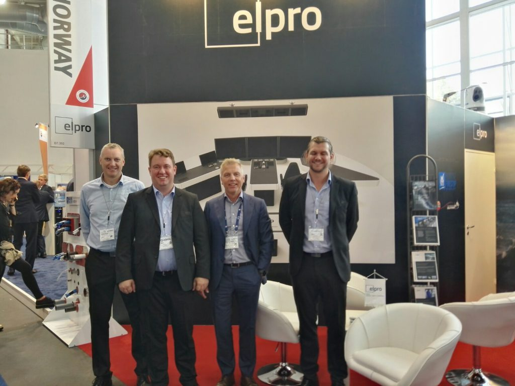 Das Elpro-Team in Hamburg©NBP