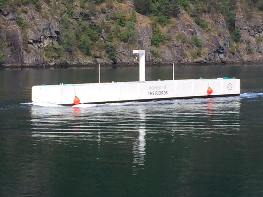 Nicht nur das Schiff – auch das Power-Dock ist revolutionär.©The Fjords