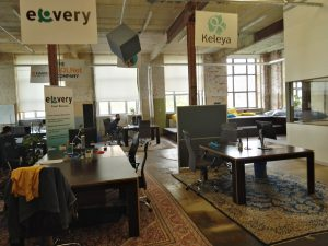 Über 50 Start-ups sind gegenwärtig im SpinLab in Leipzig beheimatet@BPN