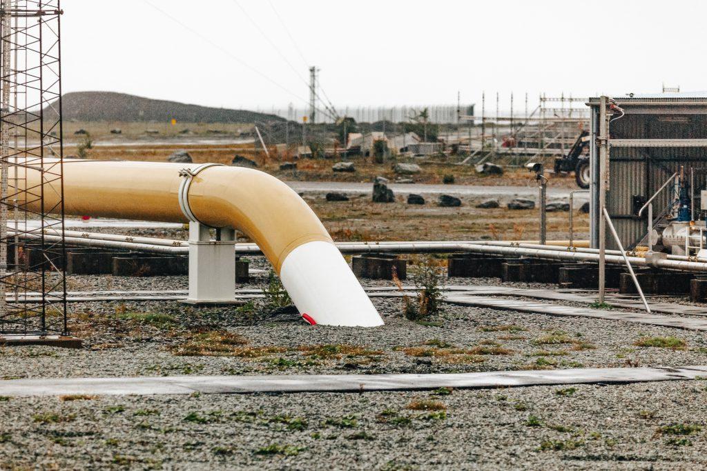 Die Gasaufbereitungsanlage Kårstø ist Start der Pipeline Europipe 2, dies Gas nach Dornum transportiert.©Iljfa C. Hendel