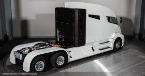 Der Hybrid-Truck NIkola One©Nikola