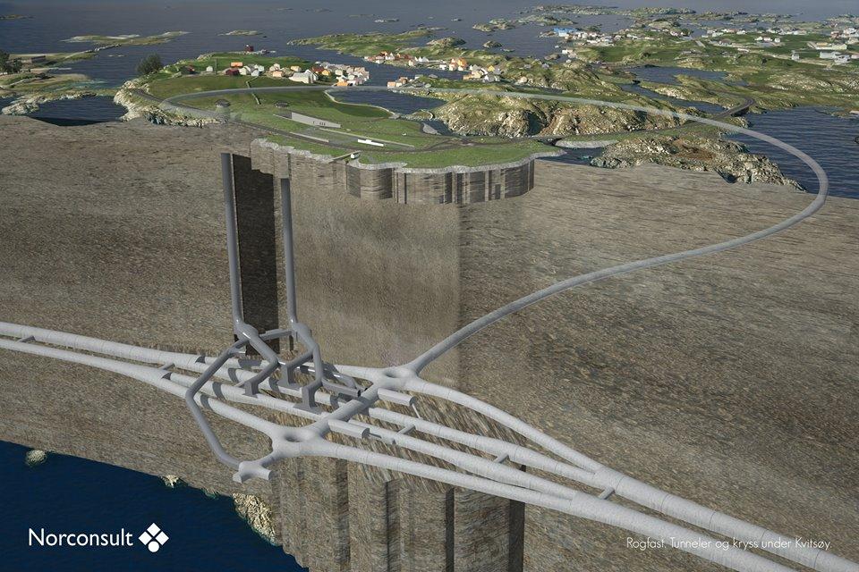 Das Rogfast-Projekt – eines von mehreren geplanten Fjordüberquerungen zur Ablösung von Fähren auf der E39©NorConsult