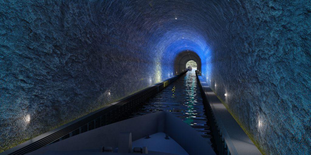 2026 soll der Stad-Schiffstunnel eröffnet werden.©Küstenverwaltung