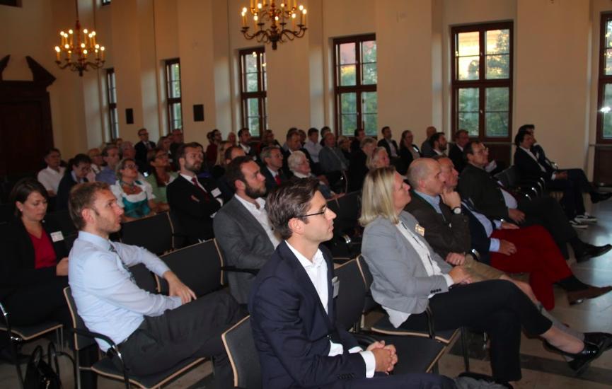 Etwa 90 Teilnehmer informierten sich zur 21. SWIFO-Veranstaltung in München zum Stand der Digitalisierung in Norwegen.©SWIFO