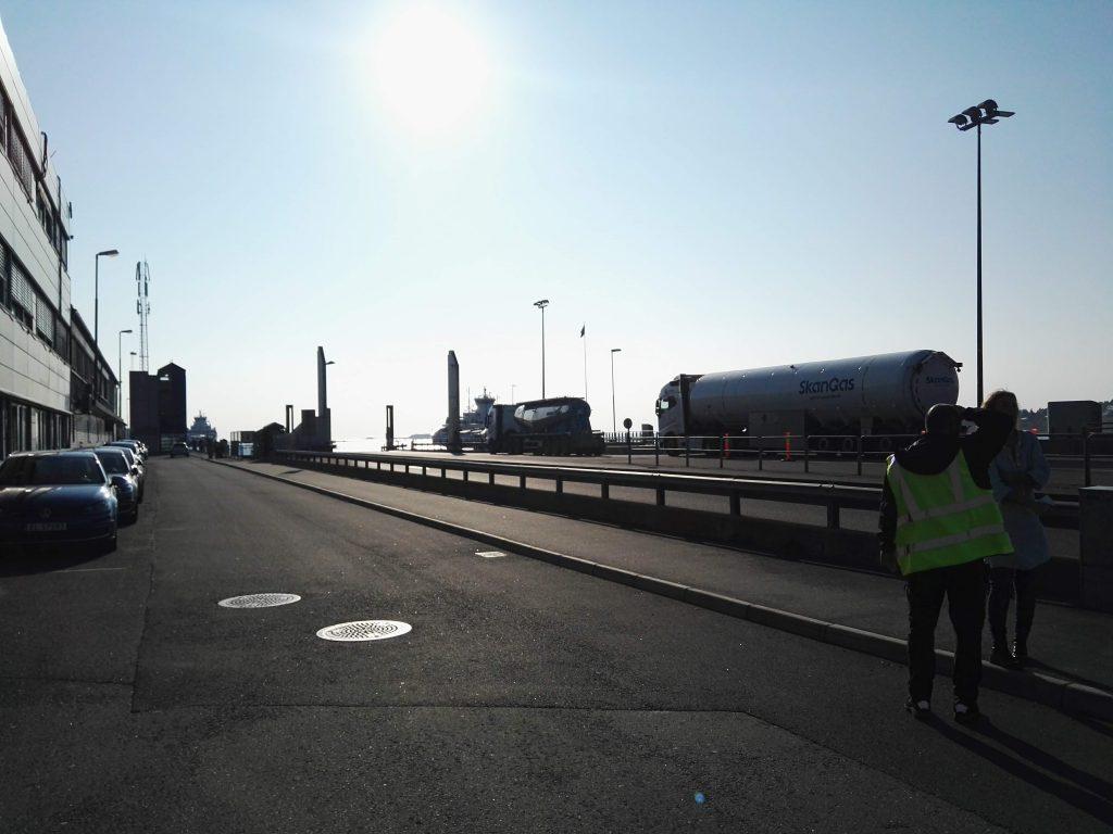 Das Fährterminal in Moss.Jährlich nutzen 1,2 Millionen Passagiere und   Fahrzeuge die Fähren zwischen Moss und Horten.©BPN