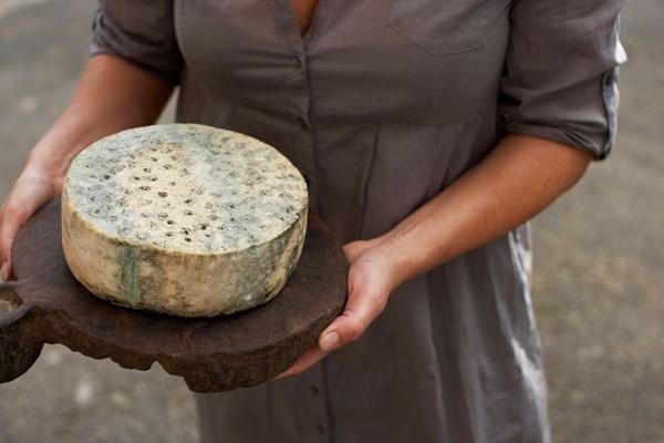 """Vor zwei Jahren wurde der norwegische Blauschimmelkäse""""Kraftkar"""" des Herstellers Tingvollost zum besten Käse der Welt seiner Kategorie gekürt.©Per Kvalvik"""