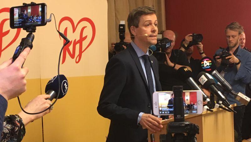 Knut Arild Hareid, Chef der Christdemokratischen Partei KrF in Norwegen, will mehr Wärme in der Gesellschaft©KrF
