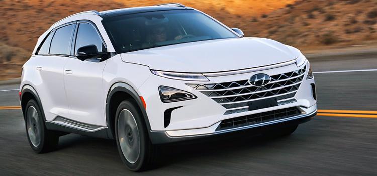 Wasserstoff hat eine niedrige Priorität in Bezug auf die Kraftstoffinfrastruktur, aber im September wurden 8 neue Hyundai Nexo registriert.©OFV