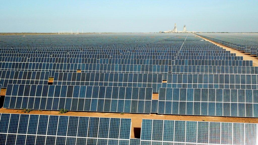 Die Apodi-Solaranlage in Brasilien – das erste Engagement von Equinor im Solarbereich©Equinor