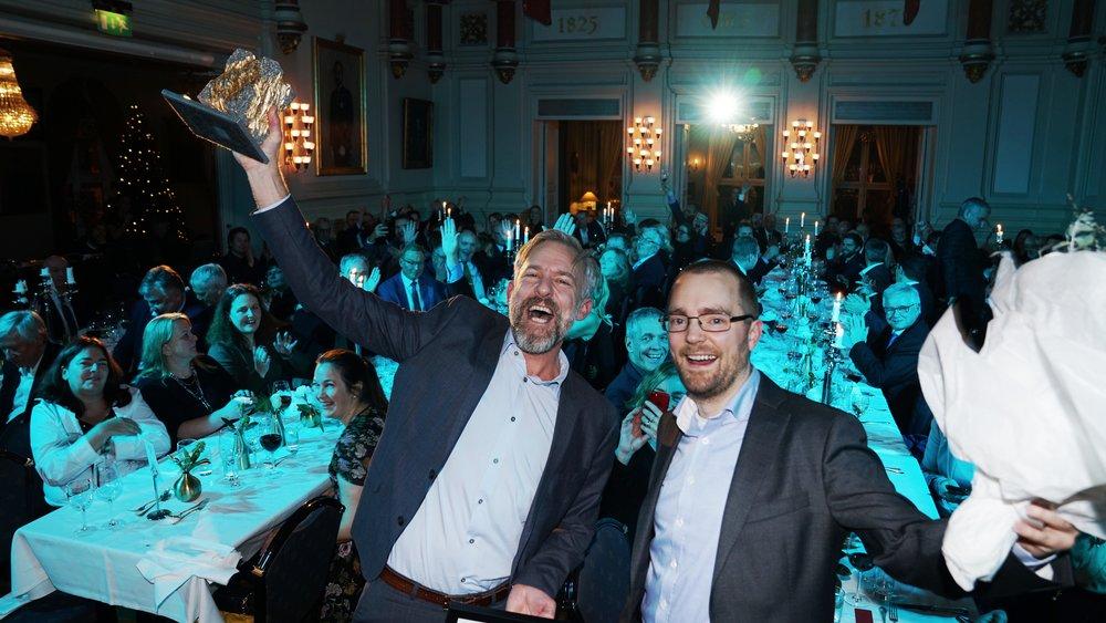 Zivid gewann den Norwegian Tech Award 2018. (Foto: Eirik Urke