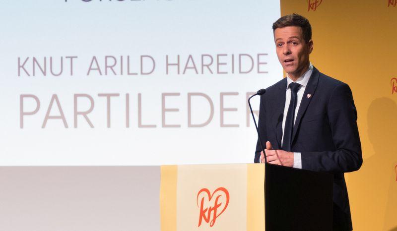 Parteichef Knut Arild Hareide ist nach der Abstimmungsniederlage als Parteichef der KrF zurückgetreten.©KrF