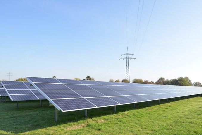 Der Solarpark in Dörverden kann 180 Haushalte mit Strom versorgen.©Michael Dieck