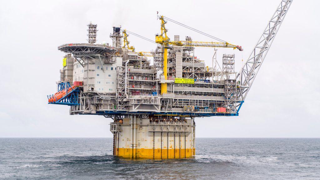 Die Mehrheit der Ausrüstungen der Plattform stammt aus Norwegen. Das Gerüst wurde in Südkorea gebaut.©Equinor