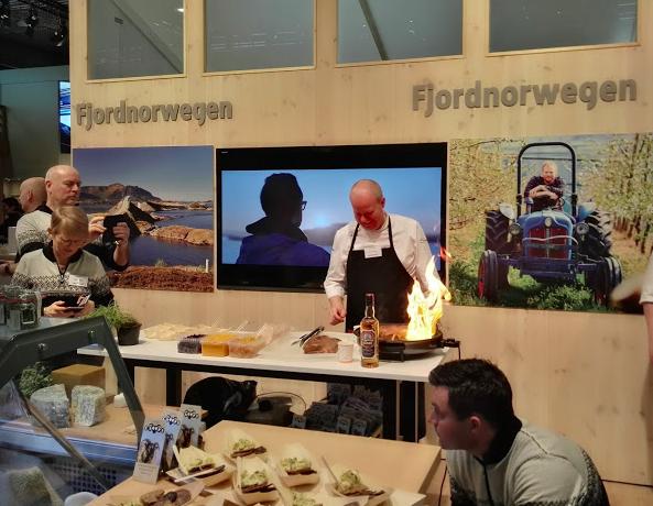 2018 nahmen norwegische Unternehmen an der Grünen Woche in Berlin teil©BPN