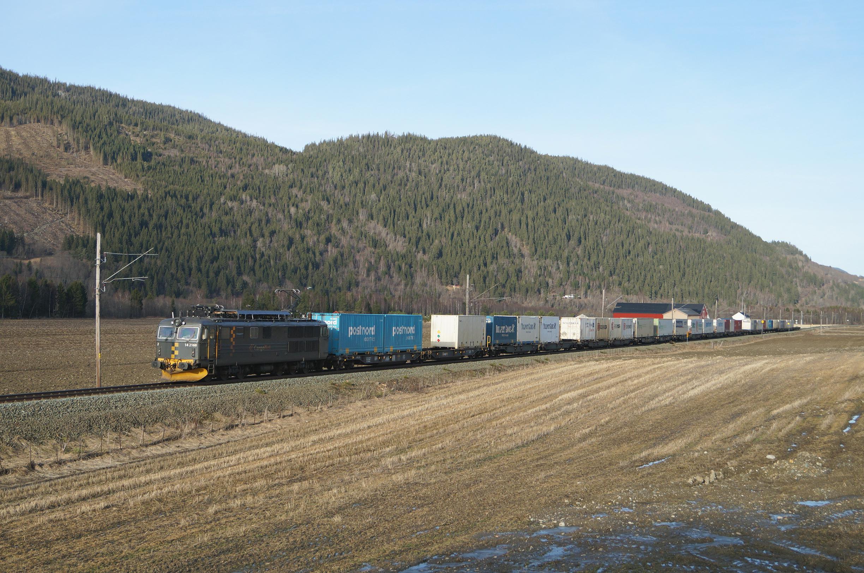Cargonet-Güterzug auf der Dovrebanen©Øyvind Svärd