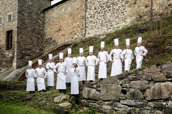 Sowohl die norwegische Junior- als auch die A-Nationalmannschaft erkämpfte beim kulinarischen Weltcup in Luxemburg die Bronze-Medaille.Schweden gewann die Gold, während Österreich unter den Junioren das Beste war.©Sebastian Ludvigsen Food Agency Impulse/Visit Norway