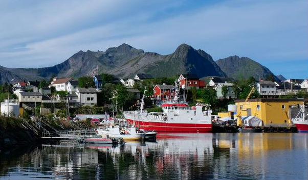 Im August wurde auf der Insel Husøy im Norden von Senja das Zentrum für das Meer und die Arktis eröffnet.