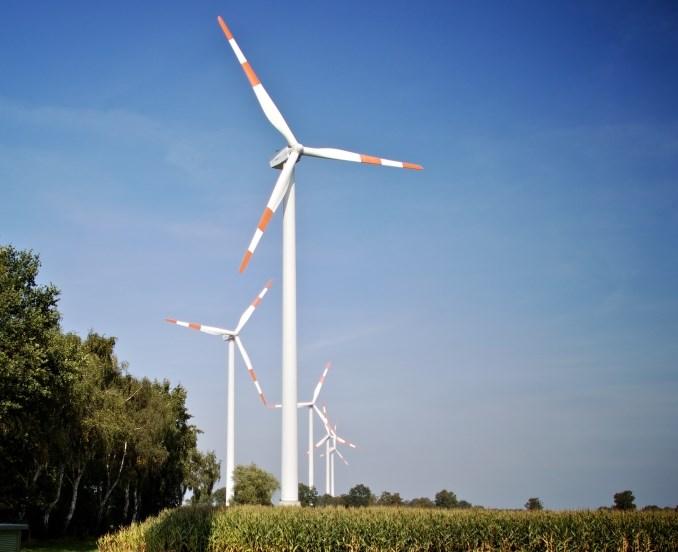 Der Windpark Bassum ist einer der Windparks, aus denen Statkraft regenerativen Strom an Mercedes-Benz liefert.©Statkraft