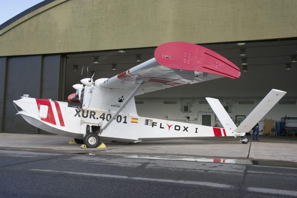 Das Bild zeigt eine Drohne, die im Andøya Space Center getestet wurde©Andøya Space Centers