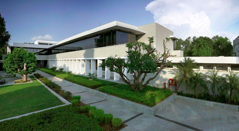 Das neue smarkte Gebäude der norwegischen Botschaft in Indien, entworfen von den Archiekten Terje Grønmo Arkitekter AS©Terje Grønmo Arkitekter AS