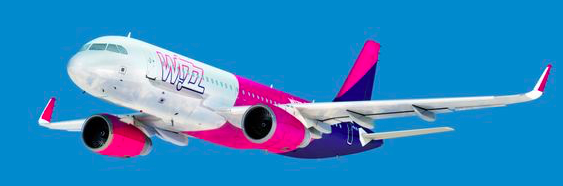Die ungarische Billigfluglinie Wizz Air bietet bereits zehn Direktverbindungen nach Gdańsk.©Avinor